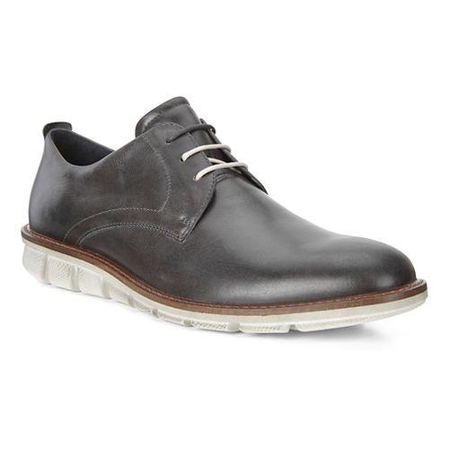 Mens Ecco Jeremy Hybrid Tie Casual Shoe - Moonless 44
