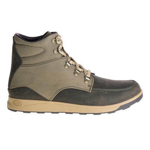 Mens Chaco Teton Sandals Shoe - Olive 9.5