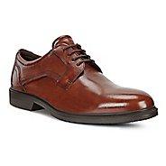 Mens Ecco Lisbon Plain Toe Tie Casual Shoe