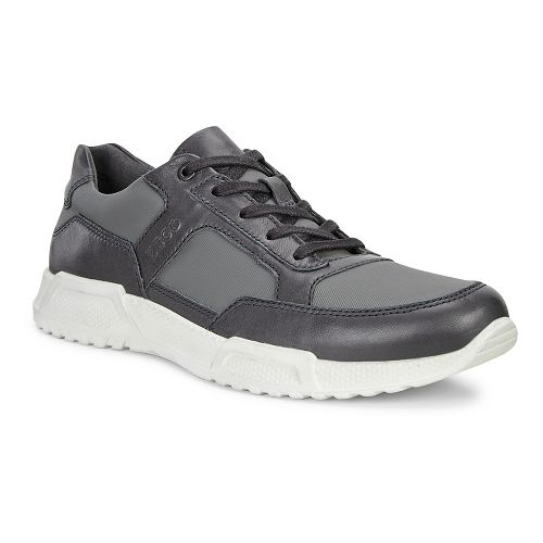 Mens Ecco Luca Modern Sneaker Casual Shoe - Moonless/Dark Shadow 42