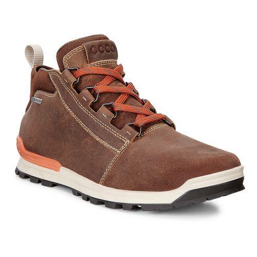 Mens Ecco Oregon Retro Midcut Casual Shoe - Cashmere/Cashmere 42