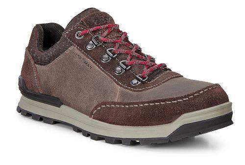 Mens Ecco Oregon Retro Sneaker Casual Shoe - Coffee/Coffee 46