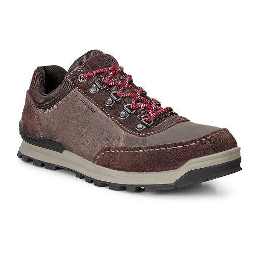 Mens Ecco Oregon Retro Sneaker Casual Shoe - Coffee/Coffee 42