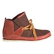 Womens Chaco Harper Mid Casual Shoe - Red/Brown 9.5
