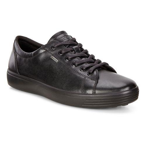 Mens Ecco Soft 7 Low GTX Casual Shoe - Black 42