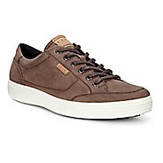 Mens Ecco Soft 7 Long Lace Casual Shoe