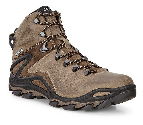Mens Ecco Terra Evo GTX Mid Casual Shoe - Navajo Brown/Birch 41