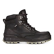 Mens Ecco Track 25 High Casual Shoe - Black/Black 41
