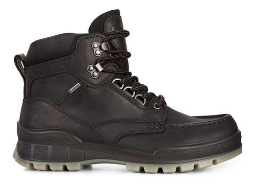 Mens Ecco Track 25 High Casual Shoe - Black/Black 40