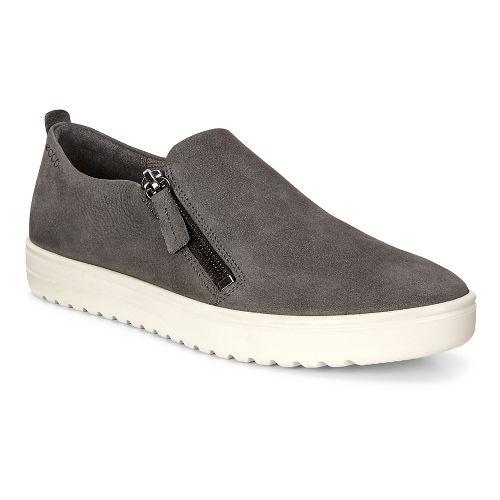 Womens Ecco Fara Zip Casual Shoe - Dark Shadow 38