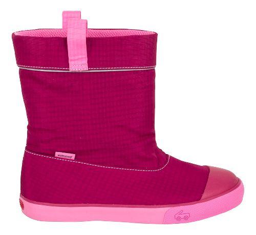 Kids See Kai Run Montlake WP Casual Shoe - Berry 5C