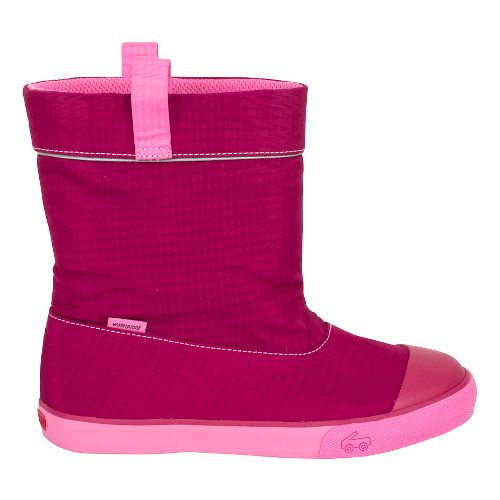 Girls See Kai Run Montlake WP Casual Shoe - Berry 4Y