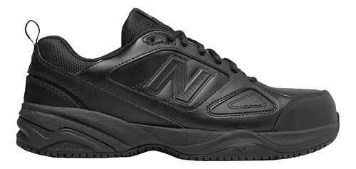 Mens New Balance 627v2 Walking Shoe - Black/Black 7