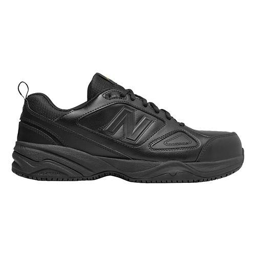 Mens New Balance 627v2 Walking Shoe - Black/Black 8