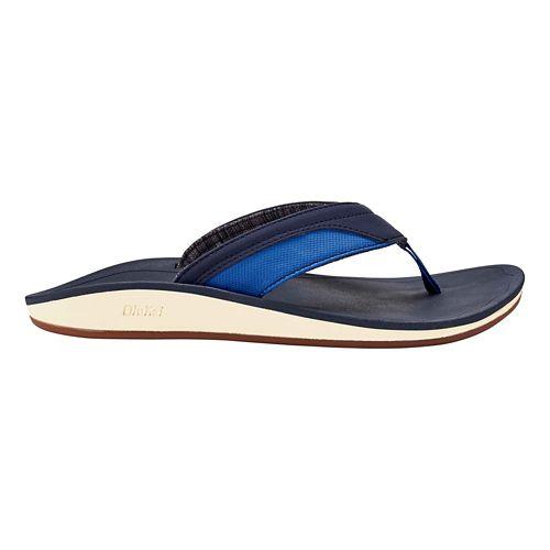Mens OluKai Nohana Sandals Shoe - Black/Black 8