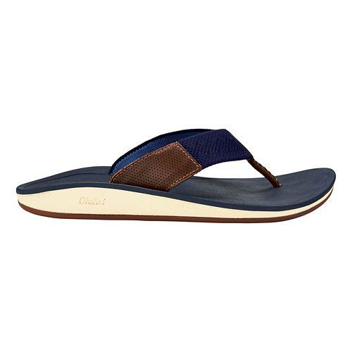 Mens OluKai Nohana Ulana Sandals Shoe - Black/Black 8