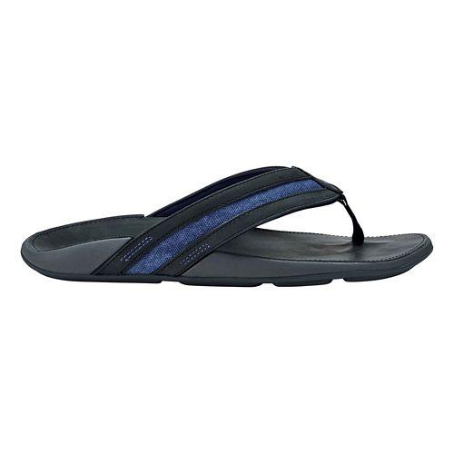 Mens OluKai Ikoi Sandals Shoe - Blue/Blue 7