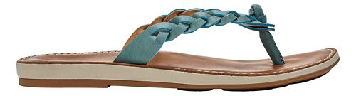 Womens OluKai Kahiko Sandals Shoe - Sea/Tan 9