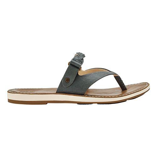Womens OluKai Kahikolu Sandals Shoe - Slate/Tan 11