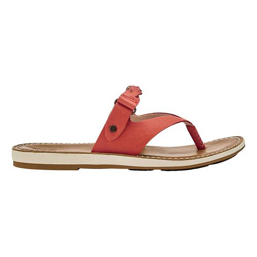 Womens OluKai Kahikolu Sandals Shoe - Peach/Tan 7