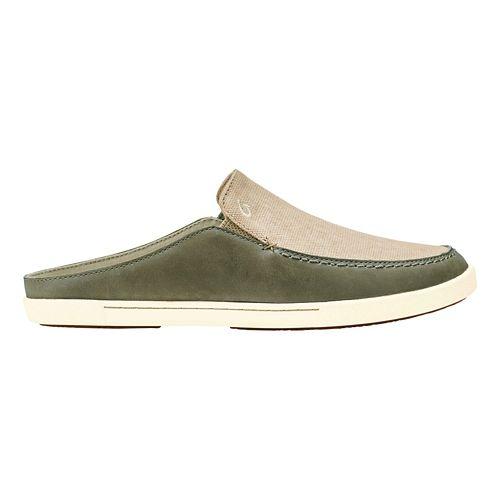 Womens OluKai Huaka Casual Shoe - Silt/Tapa 8