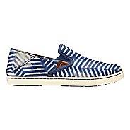 Womens OluKai Pehuea Pa'i Casual Shoe - Indigo/Off White 9
