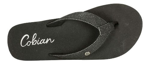 Womens Cobian Cancun Bounce Sandals Shoe - Black 10