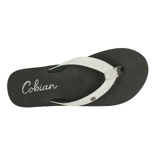 Womens Cobian Cancun Bounce Sandals Shoe - White 6