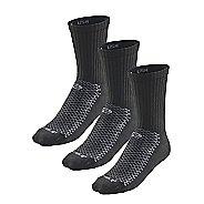 R-Gear Drymax Dry-As-A-Bone Thick Cushion Crew 3 pack Socks - Black M