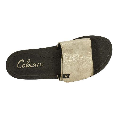Womens Cobian Soho Sandals Shoe - Gold 10