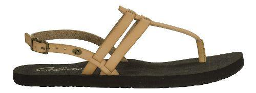 Womens Cobian Tica Sandals Shoe - Tan 10