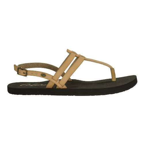 Womens Cobian Tica Sandals Shoe - Tan 6