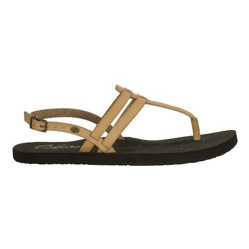 Womens Cobian Tica Sandals Shoe - Tan 7