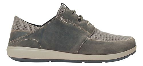 Mens OluKai Makia Lace Casual Shoe - Clay/Kona 11.5