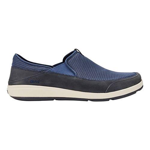 Mens OluKai Makia Casual Shoe - Indigo/Trench Blue 8