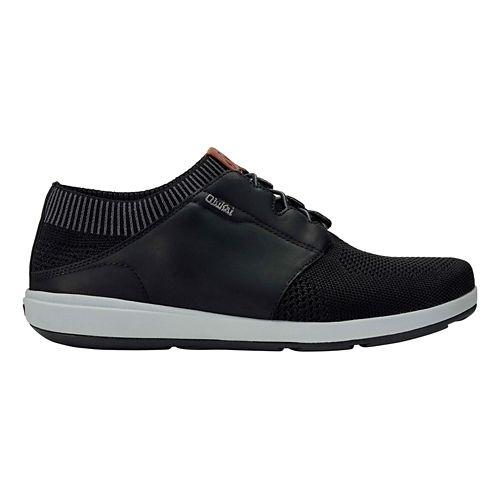 Mens OluKai Makia Ulana Casual Shoe - Black/Black 13