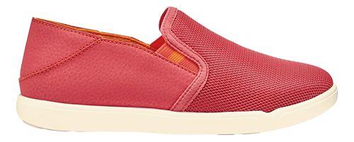Girls OluKai Pehuea Maka Casual Shoe - Coral/Orange 2Y