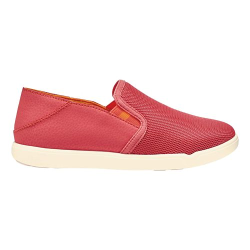 Girls OluKai Pehuea Maka Casual Shoe - Coral/Orange 2Y