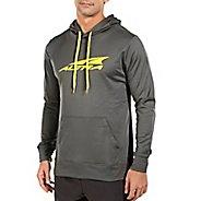 Mens Altra Core Hoody Half-Zips & Hoodies Technical Tops - Grey M