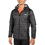 Mens Altra Micropuff Stretch Cold Weather Jackets - Black XL
