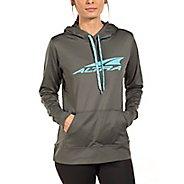 Womens Altra Core Hoody Half-Zips & Hoodies Jackets - Grey XS