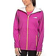 Womens Altra Wasatch Jacket Running Jackets - Clover S