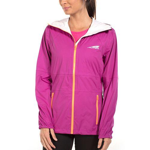 Womens Altra Wasatch Jacket Running Jackets - Clover M