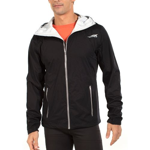 Mens Altra Wasatch Rain Jackets - Black XL