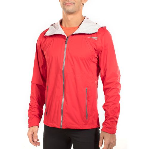 Mens Altra Wasatch Rain Jackets - Red XL