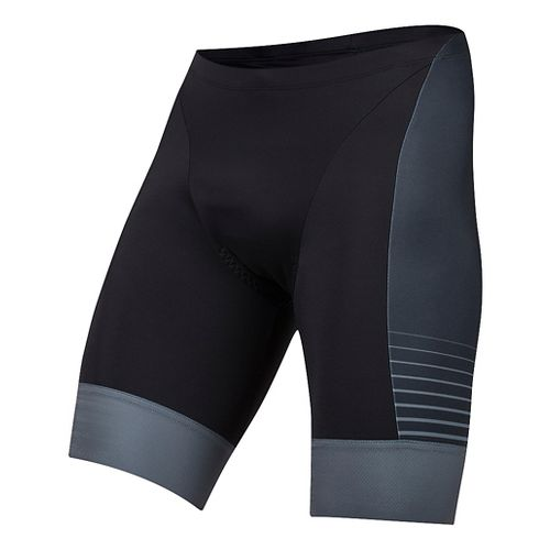 Mens Pearl Izumi Elite Pursuit Graphic Tri Unlined Shorts - Black/Yellow Foil S