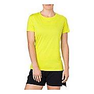 Womens ASICS Short Sleeve Non-Technical Tops - Sulphur Spring XS
