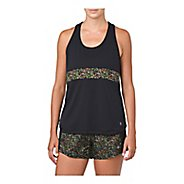 Womens ASICS LP Sleeveless & Tank Non-Technical Tops - Performance Black XL