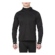 Mens ASICS Accelerate Running Jackets - Performance Black XL