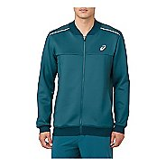 Mens ASICS Cold Weather Jackets - Blue Steel L